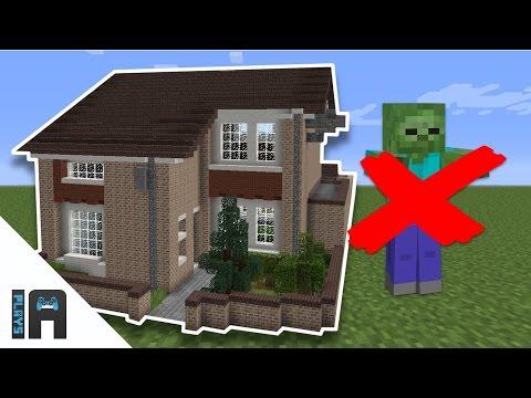 كيف تحمي بيتك من الوحوش في ماينكرافت   IA Plays