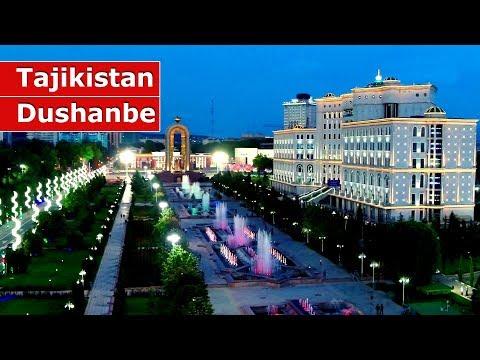 Площадь Дусти - Сердце Душанбе / Tajikistan Dushanbe Somoni