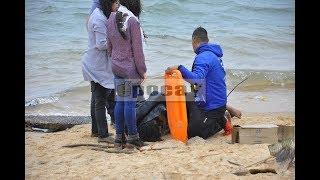 Heroico rescate de dos guardavidas a cuatro jóvenes en el Paraná