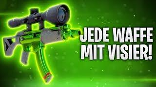 JEDE WÅFFE mit VISIER! GEHEIMER TRICK! 🔥   Fortnite: Battle Royale