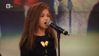 amazing young singer covers beyonces listen  only 9 years old