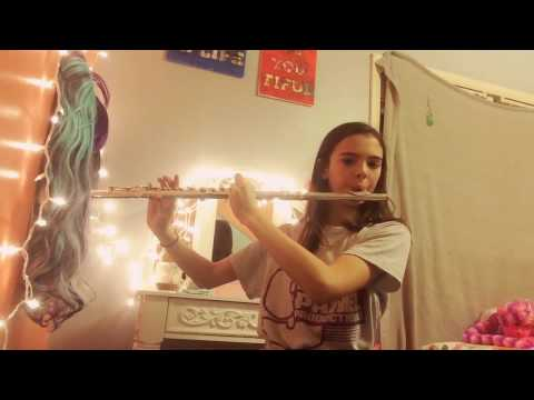 How to play fake love on the flute
