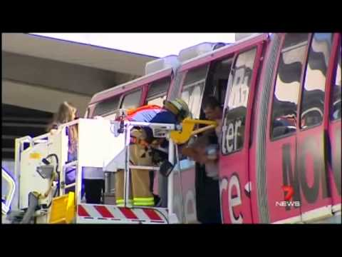 Seven News Sydney - Sydney Monorail last day of operation (30/6/2013)