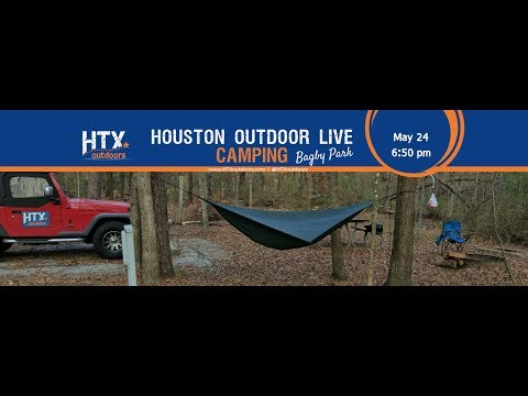 Houston Outdoor LIVE! Camping