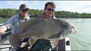 Cranking Drum - Uncut Angling - January 10, 2013