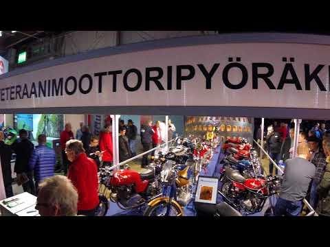 MP-messut Helsingissä 2018 - Motorbike Fair 2018 in Helsinki