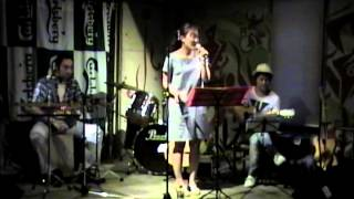 20150830 Don't Stop Believin' miho with LAMBRUSCO at サンハウス.