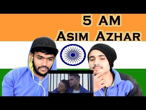Indian Reaction on 5 AM   Asim Azhar ft UpsideDown Swaggy d