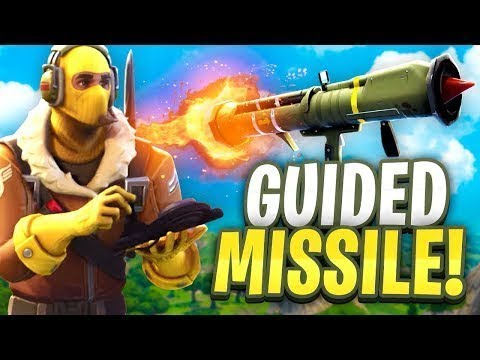 Blowing up Battle Bus with Guided Missle! 99 KILLS!