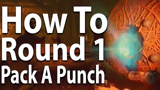 How To Pack a Punch on Round 1 - Shadows of Evil Guide (Call of Duty: Black Ops 3 Zombies)