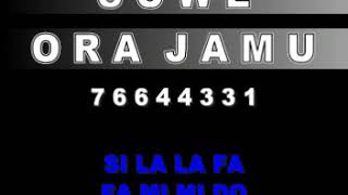 Gambar cover NOT LAGU SUWE ORA JAMU - LAGU DAERAH JAWA TENGAH