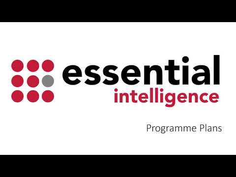 Programme Plans