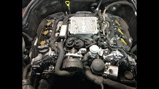 Cleaning MAF and Throttle Body on a Mercedes-Benz 2008 - 2014 C300 and C350 (W204)