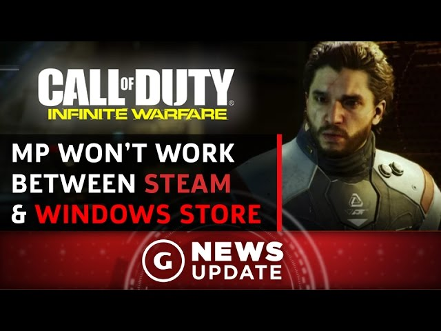 Windows Store's Call of Duty: Infinite Warfare Won't Connect With Steam Players - GS News Update