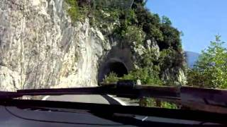Amazing road lake Garda