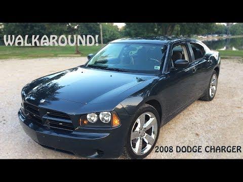 2017 Dodge Charger >> Walkaround of My 2008 Dodge Charger 2.7L V6 SE - YouTube