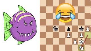 ChessNetwork vs Stockfish levels 1 through 8
