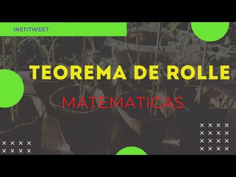 Teorema de Rolle