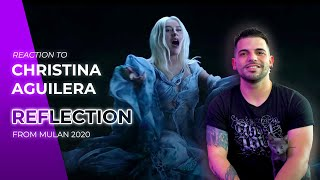 "She excelled herself 🤭 | Christina Aguilera - Reflection 2020 (from ""Mulan"") 