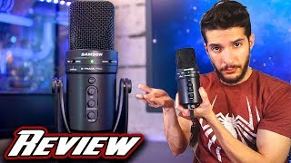 Samson G-Track Pro USB Microphone REVIEW + TEST