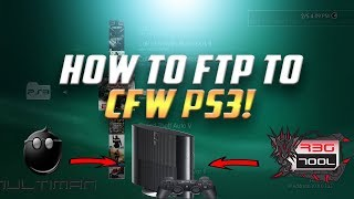 How To FTP Large Game To PS3 With Rebug ToolBox  or Multiman