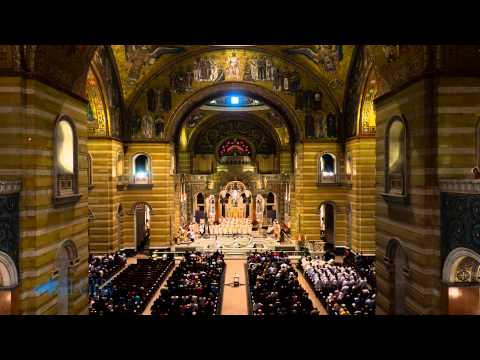 Timelapse of Ordination to the Priesthood at Cathedral Basilica of St  Louis May 23 2015