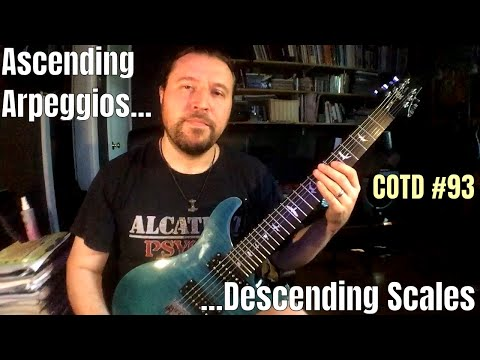 Ascending Arpeggios, Descending Scales: ShredMentor Challenge of the Day #93