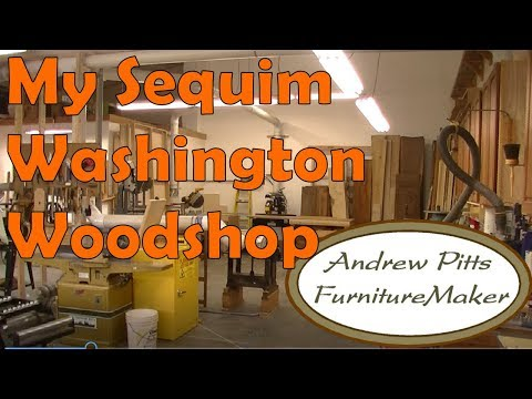 My Sequim Washington Woodshop: Andrew Pitts~ FurnitureMaker