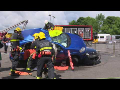 London Fire Brigade  at Royal Berkshire Fire and Rescue Regional UKRO HD