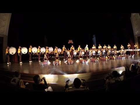 University of Minnesota Marching Band Percussion Feature at 2014 Indoor Concert