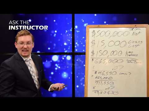 Calculating Seller's Net Profit and Doc Stamps - Ask the Instructor