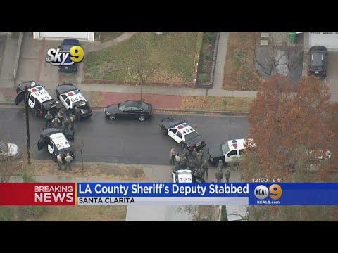 Sheriff's Deputy Stabbed At Jack In The Box In Santa Clarita