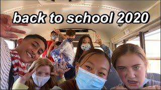 BACK TO SCHOOL 2020 | SCHOOL VLOG
