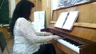Наш урок музыки в школе.