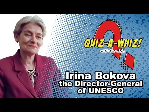 Irina Bokova on a typical day at UNESCO