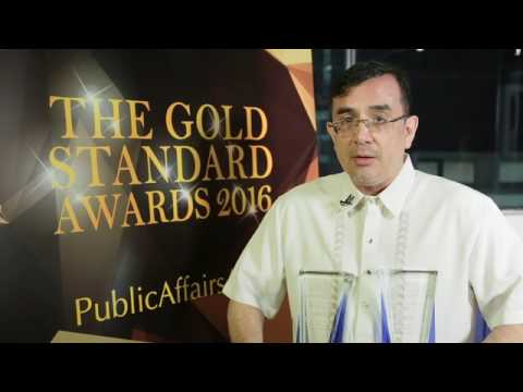 The Gold Standard Awards for Citizenship and Issues and Crisis: Won by Manila Electric
