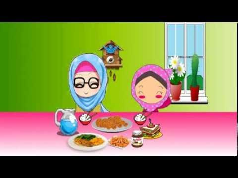 Animasi Adab Makan
