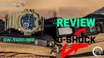 Review Đồng Hồ Nam Chính Hãng CASIO G-SHOCK GW-9400-3DR [dongho24h.com]