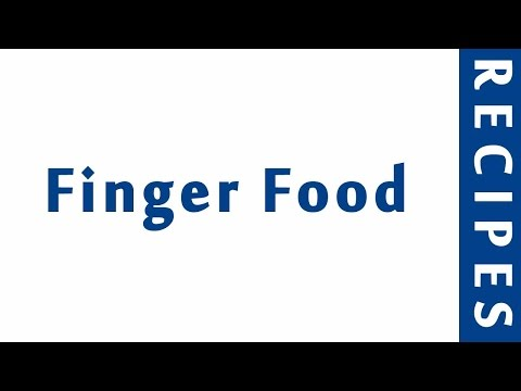 Finger Food | Easy Low Carb Recipes | DIET RECIPES | RECIPES LIBRARY