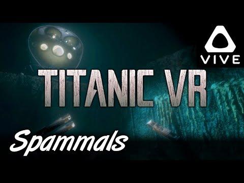 Titanic VR   Part 2   Wireless Room & Cargo Hold (HTC Vive VR)