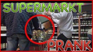 SUPERMARKT PRANK! LEUTE IM SUPERMARKT PRANKEN! #2