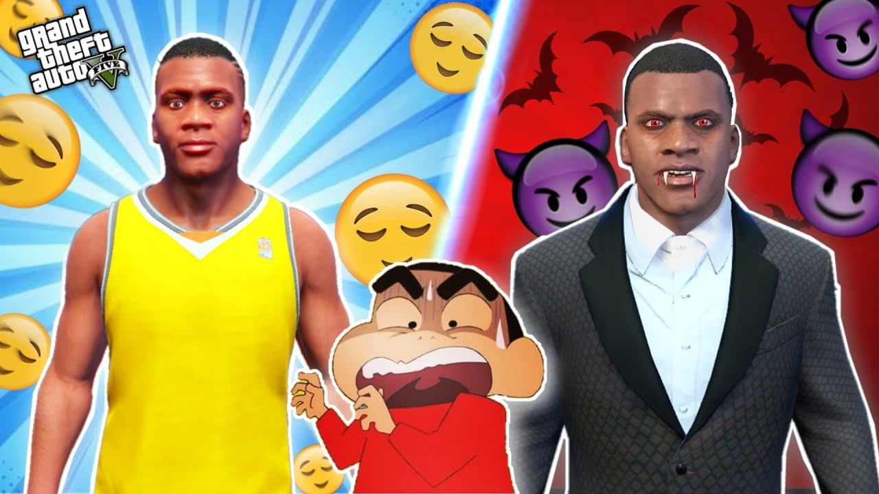 GTA 5 : EVIL FRANKLIN TRY TO KILL SHINCHAN AND AVENGER ARMY | THUGBOI MAX
