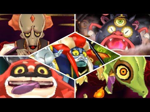 Yo-kai Watch 2 Psychic Specters - All Bosses