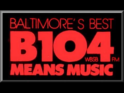 WBSB B104 Baltimore - Brian & O'Brien - Dec 1986