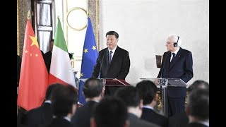 Xi: China-Italy cooperation is mutually beneficial | CCTV English