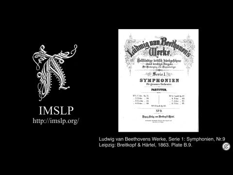 Symphony No.9, Op.125 (Beethoven) -Karajan- with Full Score