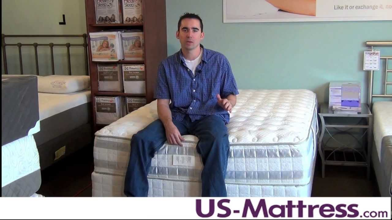 Serta Perfect Day Iseries Applause Firm Mattress Youtube
