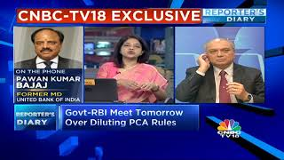 Govt-RBI Meet Tomorrow Over Diluting PCA Rules
