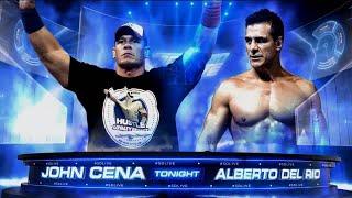 Zack Pod John Cena Vs Alberto Del Rio SmackDown live 2016