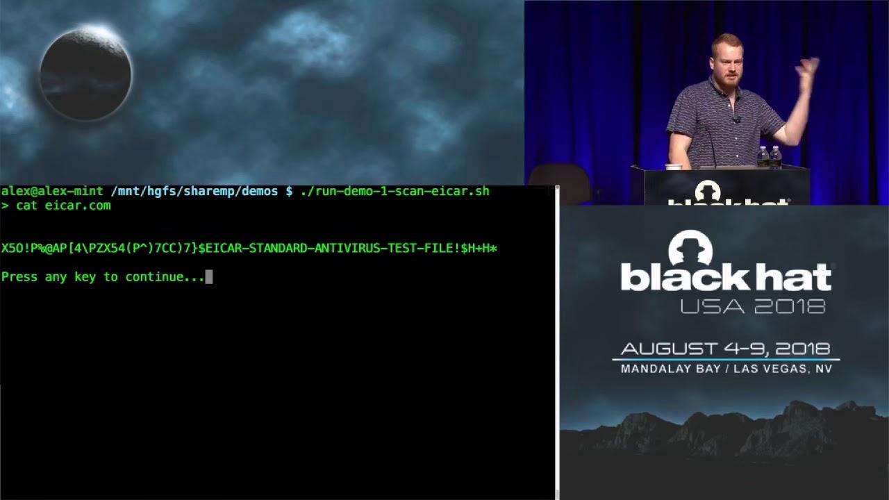 Black Hat USA 2018 - Windows Offender Reverse Engineering Windows Defender's Antivirus Emulator